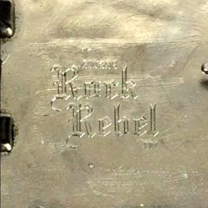 Rock Rebel Accessories - Authentic Rock Rebel Belt Buckle Men's